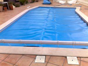 enrolador manual para piscina