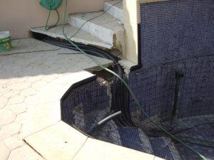 requalificação de sistemas de piscina